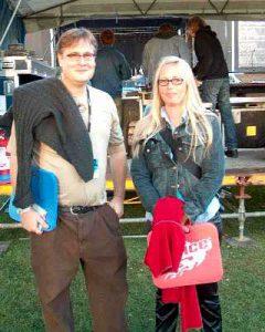 Brent Grulke og Rikke Rask (foto: Kat Borgen)