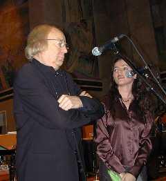 Arne Nordheim og Maje Ratkje