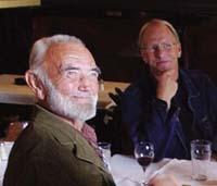 Odd Børretzen og Lars M. Myhre