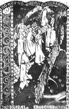 "Gerhard Munthe: ""Ferden over Gjallarbrui"" (1904)"