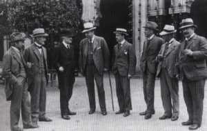 Nordiske Komponister - gruppebilde fra 1919