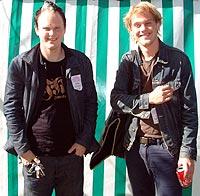 Martin og Lars Horntveth