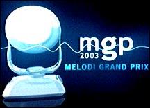 Melodi Grand Prix 2003-logo