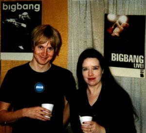 Sarah Chanderia og Øystein Greni