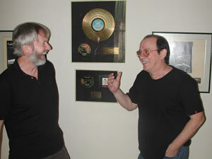 Erik Hillestad og Silvio Rodrigues