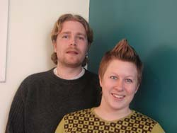 Sigurd Reinton og Gry Bråtømyr