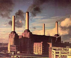 Pink Floyd - Animals, 1977 (Cover: Hipgnosis)