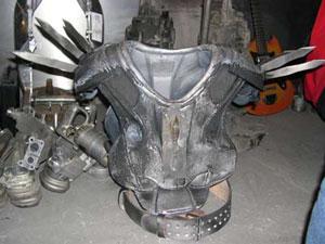 Hellhammers kostyme (Design: René Hamel, foto: Maia M.H. Drachensteen)