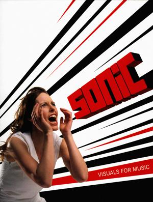 """Omslag på boken """"Sonic"""" (2004)"""