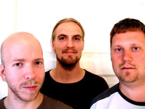 Petter Kragstad, Raymond Berge, David Bratlie. Foto: Oslo Sinfonietta