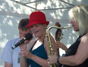 Sildajazz 2004: Christina Bjordal, Bodil Niska (Foto: Sigurd A. Wold)