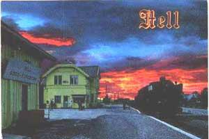 Postkort fra Hell