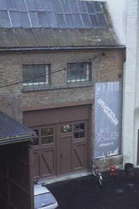 UKS - Unge Kuunstneres Samfund (fasaden)
