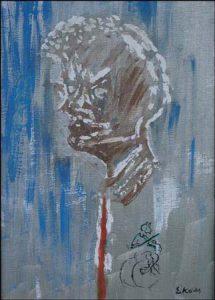 Ludvig Eikaas: Portrett av Einar Førde, 2001 (Fra NRK.no)