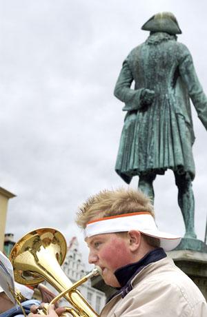 BrassWind 2004: Ung musiker