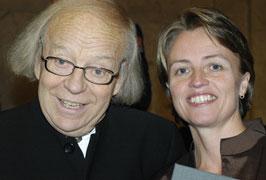 Cecilie Ore og Arne Nordheim