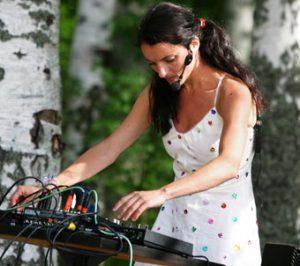 Maja Ratkje live (Foto: Maarit Kytöharju)