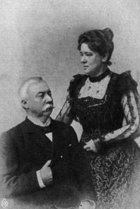 Thorvald og Mary S. Landers (Foto: www.hf.uio.no/imt/forskning/norgesmusikk)
