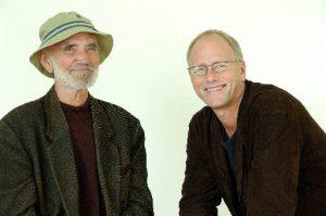 Odd Børretzen og Lars Martin Myhre (FOTO:Helge Jørgensen/Blåmann Musikkforlag)