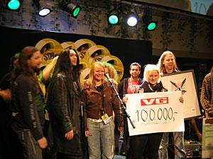 Lumsk mottar by:Larm-stipendet 2005