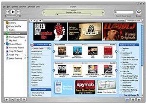 iTunes (utsnitt av skjermbilde)