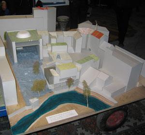 Hausmania, modell fra verksted 2005