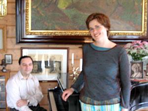 Marianne Beate Kielland under Festspillene i Bergen, 2005