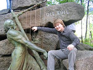 Joachim Kjelsaas Kwetzinsky på Festspillene i Bergen, 2005