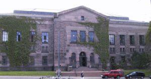 Nasjonalbiblioteket, fasade (Foto: Lisbeth Risnes, MIC)