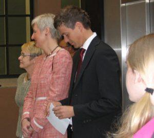 Vigdis Moe Skarstein, Valgerd Svarstad Haugland, Knut Arild Hareide (Foto: Lisbeth Risnes, MIC)