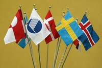Nordiske flagg, fra norden.org