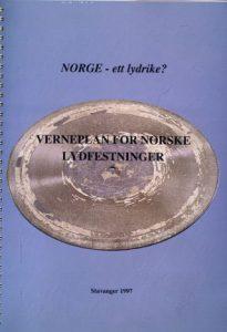 Verneplan for lydfestinger - NRKs eldste lydfesting (1934), fotografert av Anne Liv Ekroll, NRK