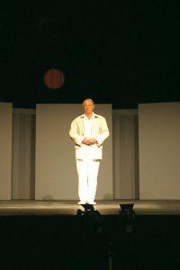 Karlheinz Stockhausen 2003 (Foto: Kathinka Pasveer - www.stockhausen.org)
