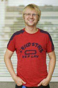 Håkon Molset, musikksjef i P3, 2005 (Foto: Nrk.no/petre)