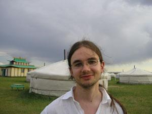 Anders Førisdal i Mongolia
