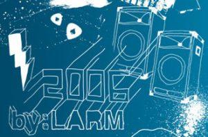 by:Larm-logo 2006 (utsnitt - hentet fra www.bylarm.no)