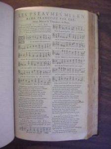 Genève-psalter fra 1567