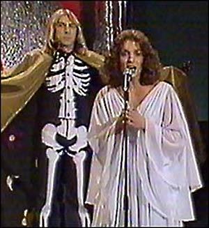 """Jahn Teigen og Inger Lise Rypdal synger """"Voodoo"""" (Foto: www.nrk.no)"""