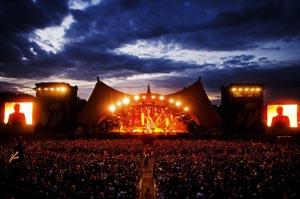 Roskilde festival - Orange stage