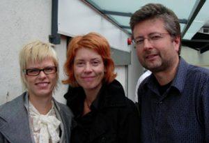 Tine Rude, Evy Sørensen og Einar Røttingen 2006