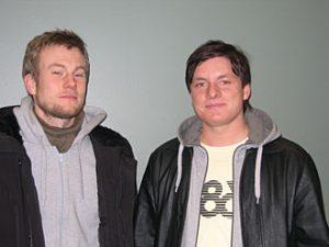 Eirik Kydland og Lars Sætren (Foto: Karoline Røed Tønessen)