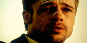 "Brad Pitt i ""Fight Club"""