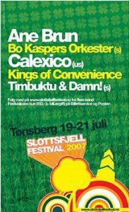 Slottsfjell 2007_plakat