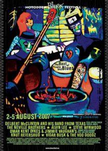 Notodden Blues Festival 2007_poster