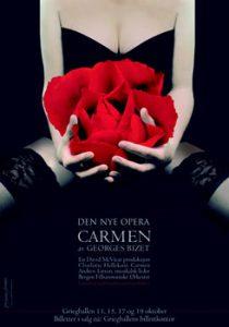 Carmen plakat, Den Nye Opera 2007