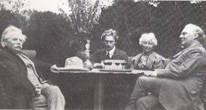 Edvard Grieg og Percy Grainger 1907 (Foto: Nasjonalbiblioteket)