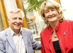 Arve Tellefsen og Karin Krog