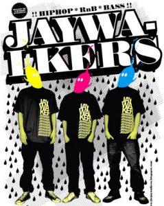 Jaywalkers_flyer (kilde: thejaywalkers.blogspot.com)