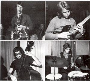 Jan Garbarek Quartet 1970 (Foto: Terje Engh)