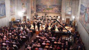 KORK i aulaen (Foto: NRK)